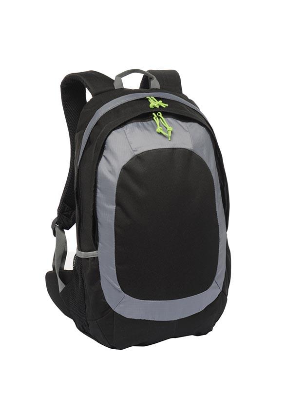 5a427719ff9f School Bag - Black Grey - MacGregor Schoolwear
