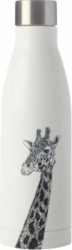 Insulated water bottle with Giraffe