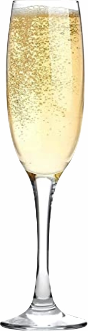 Champagne flute with Champagne for 12 deals of Christmas