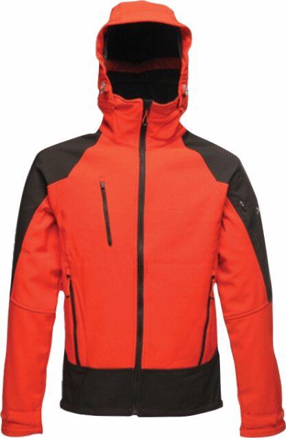 Regatta XPRO TRX jacket in red waterproof