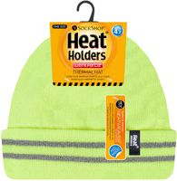 yellow heat warmer beanie hat
