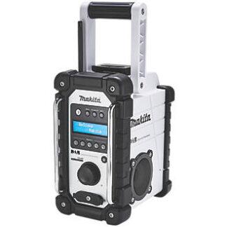 makita dab radio for site in white