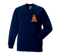 Golspie Primary V-Neck Sweatshirt
