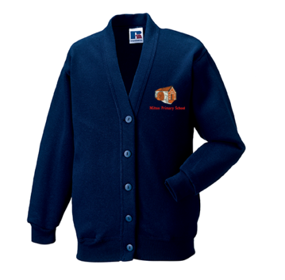 Milton Primary Primary Cardigan Sweatshirt
