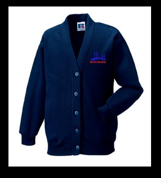 North Kessock Primary Sweatshirt Cardigan