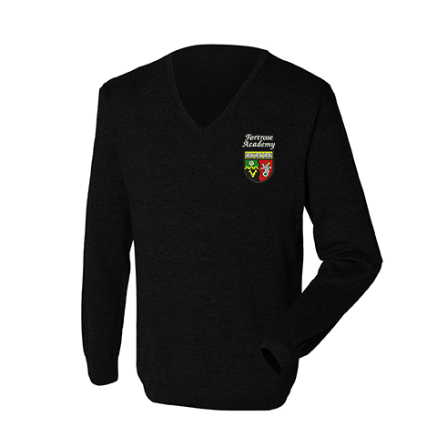Fortrose Academy Male Knitted Jumper