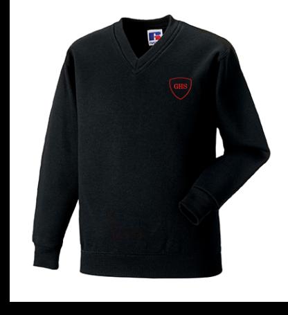 Golspie High School V-Neck Sweatshirt